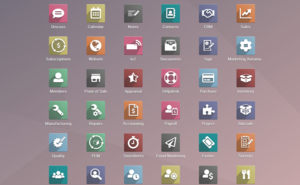 Odoo 14 Home Apps